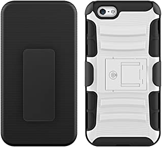 CABLE AND CASE iPhone 6s Case, [Blade Series] - Heavy Duty Protection from Drops and Falls - Also Compatible with Apple iPhone 6 [White]