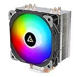 Antec CPU Cooler, RGB Fan, Silver fins, 4 Heat Pipes, SP Series