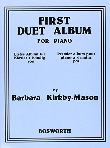 First Duet Album For Piano. Erstes Album für Klavier 4händig