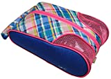 Glove It Shoe Bag, Golf Shoe Bag for Women, Mesh Air Flow Case for Ladies Shoes, Golf Gifts for Women, Stylish Golf Accessories, Plaid Sorbet, one Size (SB283)