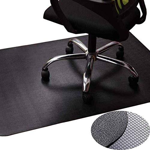 Zinn Alfombrilla para silla con ruedas resistente al desgaste, alfombrilla de protección para suelo duro/alfombra de pelo bajo/laminado/azulejo protector de piso para silla de oficina