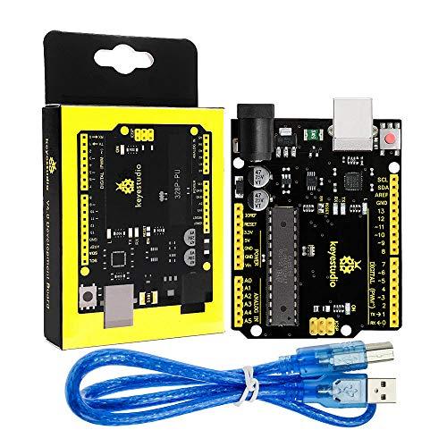 KEYESTUDIO R3 ATmega328P płyta główna Kompatybilnym z zestawem Arduino dla U-N-O R3