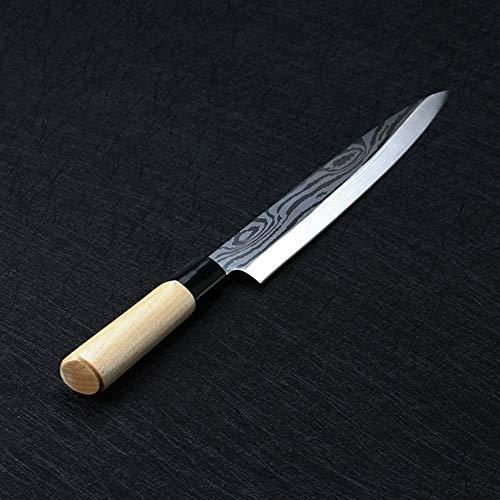 Cuchillo chef Cuchillos Chef Salmon sushi japonés cuchillos de acero inoxidable sashimi cuchillo de cocina pescado crudo filete Capas Cooki cuchillo para restaurantes y cocina en casa