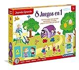Clementoni- Kit 8 Juegos Aprender y Jugar, Multicolor, Miscelanea (65600.4)