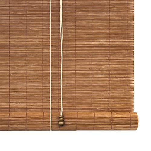 GDMING Rolgordijn van bamboe, filtering van het licht, voor ramen, decoratie, rolluiken binnen, snijden van hout, stof, gordijn, Mildiou, maat personaliseerbaar