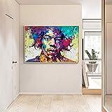 wZUN Carteles e Impresiones en Color Moderno Arte Mural Pintura en Lienzo Pintura Famosa Sala de Estar decoración del hogar Pintura 50x70 cm