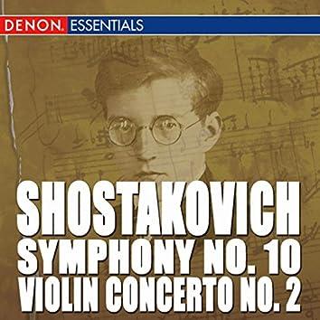 Shostakovich: Violin Concerto No. 2 - Symphony No. 10