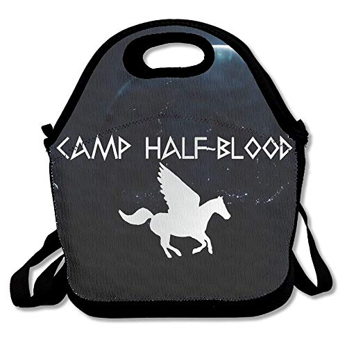 Kamp Half-Bloed Paard Platina Stijl Draagbare Lunch Tote Herbruikbare Picknick Lunch Tassen Dozen Kids Volwassenen