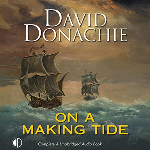 On a Making Tide audiobook cover art
