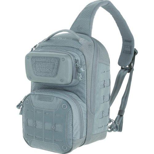 Maxpedition edgepeak Sling Pack Sac à Dos de randonnée, 38 cm, 15 litres, Gris
