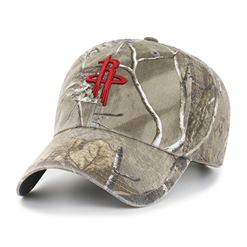 OTS NBA Realtree Challenger Clean Up Gorra Ajustable, Unisex Adulto, NBA Realtree Challenger, Realtree Camo, Talla única