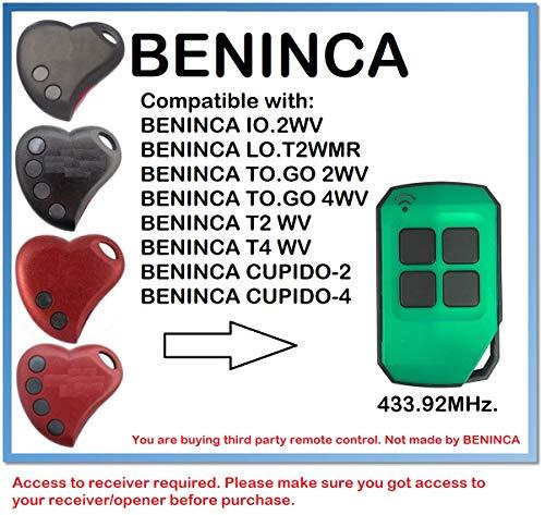 BENINCA Cupido-2, Cupido-4 - Mando a distancia (433,92 MHz)