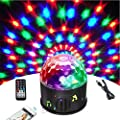 Bluetooth Disco Ball Light Wonsung 9-color Party Mirror Ball Projector Stage Lights Strobe Club lights Effect Mini Lights Magic Ball Dance Light