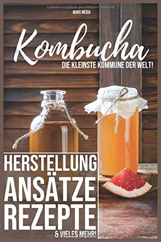Kombucha! Die kleinste Kommune der Welt: Herstellung, Ansätze, Rezepte & vieles mehr