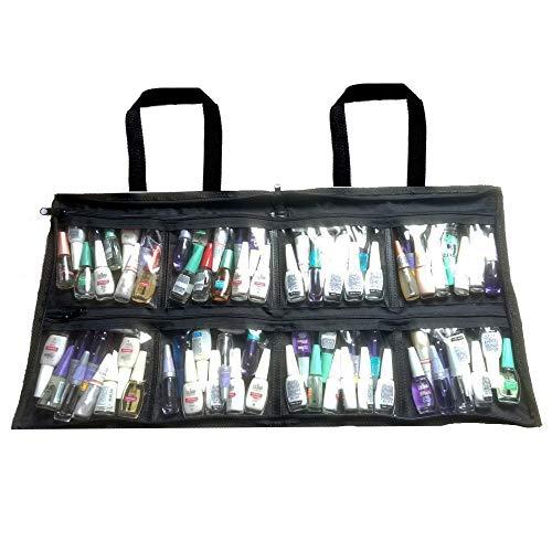 Bolsa Porta Esmalte 80 Vidrinhos Manicure necessaire promoção