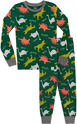 Harry BearEnsemble De Pyjamas Bien Ajust 233;DinosauresGar 231;on