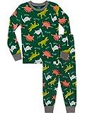 Harry Bear Pigiama a Maniche Lunghe per Ragazzi Dinosauri Vestibilitta Stretta Multicolore 4-5 Anni
