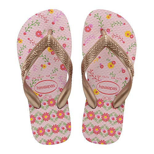 Havaianas Flores, Tongs Fille, Multicolore (Crystal...