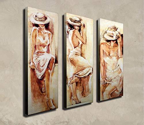Wallity - Cuadro decorativo (3 piezas)