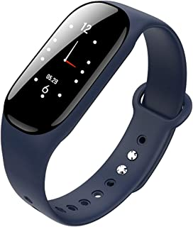 Smart bracelet Pulsera De Actividad Inteligente Reloj Impermeable PulsóMetro Monitor De CaloríAs Blood Pressure, SueñO,PodóMetro Reloj Iinteligente Hombre Mujer NiñOs(MúLtiples Colores)