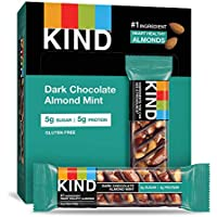 12-Count Kind 1.4oz Gluten Free Low Sugar Dark Chocolate Mint Bars