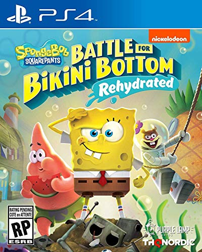 Spongebob Squarepants Battle for Bikini Bottom Rehydrated Playstation 4