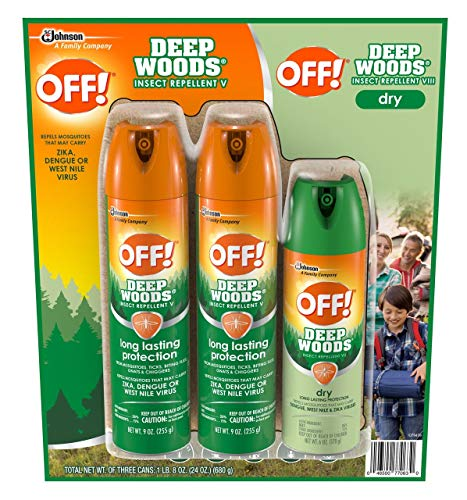 Product of OFF! Deep Woods and Deep Woods Dry Mosquito Insect Repellent Combo Pa