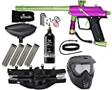 Action Village Azodin Blitz 4 Paintball Gun Epic Package Kit (Dust Purple/Polished Green)