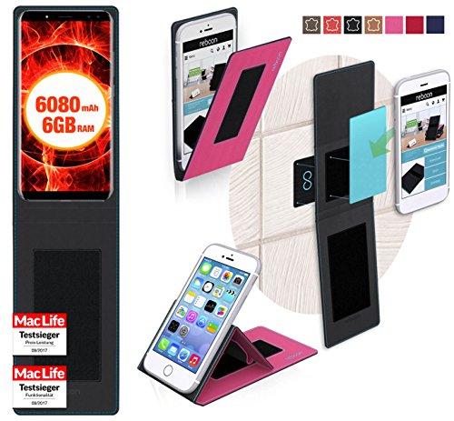 Hülle für Ulefone Power 3 Tasche Cover Hülle Bumper | Pink | Testsieger