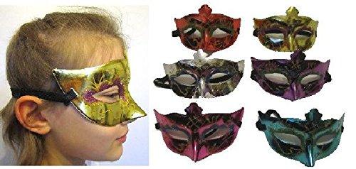 Mondial-Fete - Masques Vénitien Fantasy (Lot de 12)
