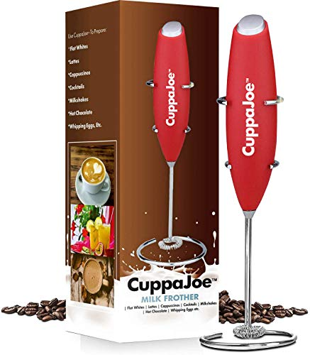 CuppaJoe EP-460A Milk Frother (Black)
