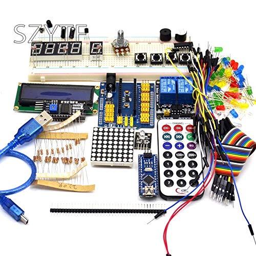 Miwaimao Beginners Starter kit Nano 3.0 DIY kit for Arduino IDE with case