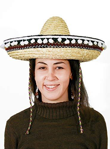 Limit Sport mascarada cm076 – Mexicains Chapeau Naturel