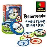 Lúdilo- Palavreado Educativo em família de agilidade Mental, Desenvolvimento da linguagem, palavras, Jogo de tabuleiro para crianças (80862)