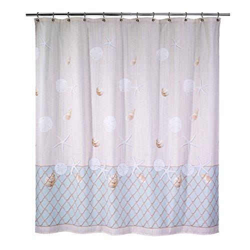 Avanti Linens Seaglass Shower Curtain, Multicolor