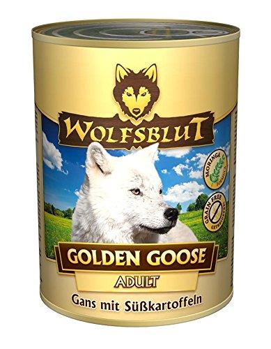 Wolfsblut | Golden Goose | 6 x 395 g | Gans | Nassfutter | Hundefutter | Getreidefrei