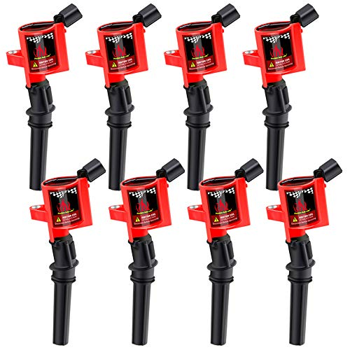 CarBole Ignition Coils 8 Pack 15% More Energy F150 Compatible with Ford Lincoln Mercury 4.6L 5.4L DG508 FD503