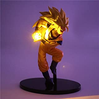 Dragon Ball Z Figurines Nuit Lumière Son Goku Led Lumière DIY Modèle De Lampe De Table Anime Dragon Ball Super Saiyan Jouets Lampe, 1