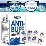 Netoa ® - Salviette anti-appannamento confezione da 120 pezzi, per tutti i tipi di bicchieri, occhiali da vista, solari, nuoto, maschere immersioni, binocoli ideali contro il vapore, nebbia