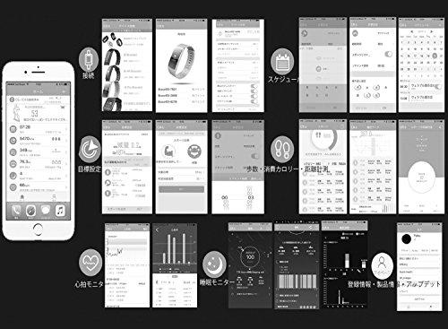 【公式日本正規代理店】日本語改良版iWOWNfiti6HRブラック日本語本体スクリーン表示リストバンド型心拍計付き活動量計睡眠モニター機能搭載歩数/消費カロリー/距離測定日本語アプリ(iPhone/Android)IP67防塵防水TELEC認証済み日本語取説/操作ガイド同梱メーカーと連携してのアフターサービス国内対応<メール/電話>一年間安心保証付き(HRブラック)