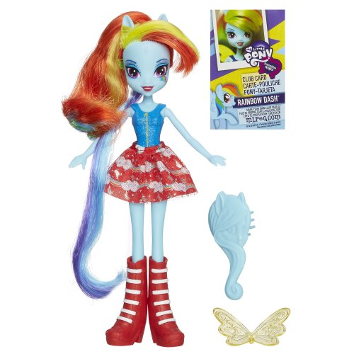 HASBRO My Little Pony Equestria Girls Bambola base soggetto 4