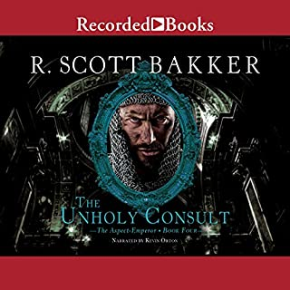 The Unholy Consult                   By:                                                                                                                                 R. Scott Bakker                               Narrated by:                                                                                                                                 Kevin Orton                      Length: 21 hrs and 10 mins     86 ratings     Overall 4.3
