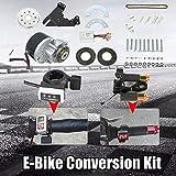 OUKANING Kit de conversión para bicicleta eléctrica de 250 W y 24 V