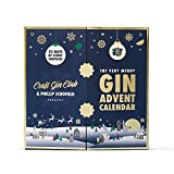 The Very Merry Gin Advent Calendar by Craft Gin Club & Phillip Schofield - 25 miniatures, Christmas 2021 edition