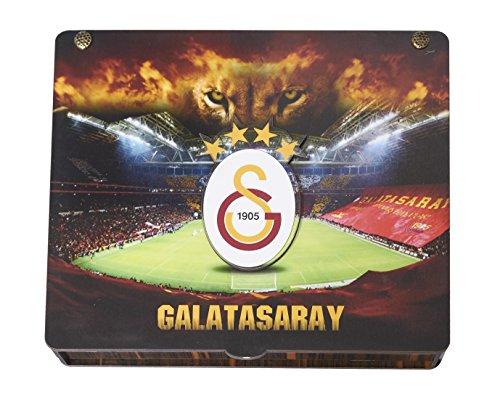 Gök-Türk Handgemachte Geschenkbox Schatulle 'Galatasaray GS' für Fußballfans