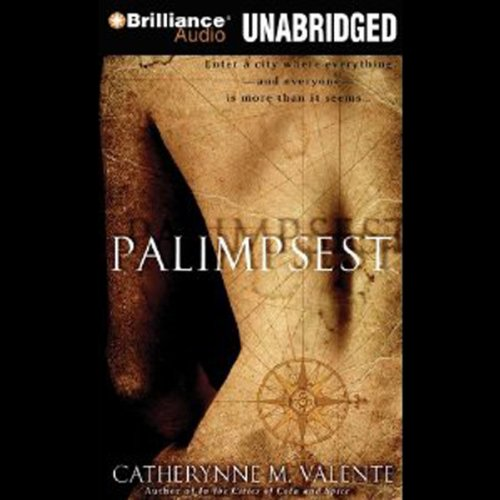 Palimpsest audiobook cover art