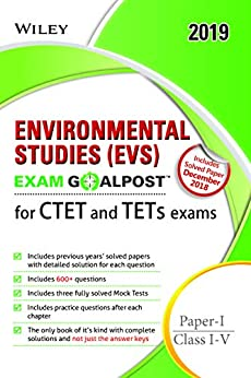 Wiley's Environmental Studies (EVS) Exam Goalpost for CTET and TETs Exams