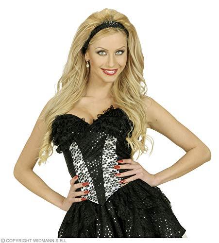 Widmann Size Black Sequin & Lace Corsets Xl