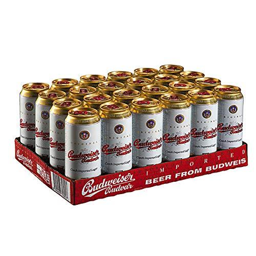 20 Dosen Budweiser Budvar EINWEG Pfand inklusive a 0,5l 5% vol.
