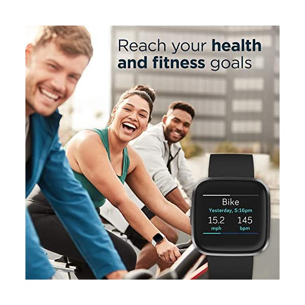 Fashion Shopping Fitbit Versa 2 Special Edition Health & Fitness Smartwatch with Heart Rate, Music,